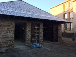 Réhabilitation en cours des logements Estaing