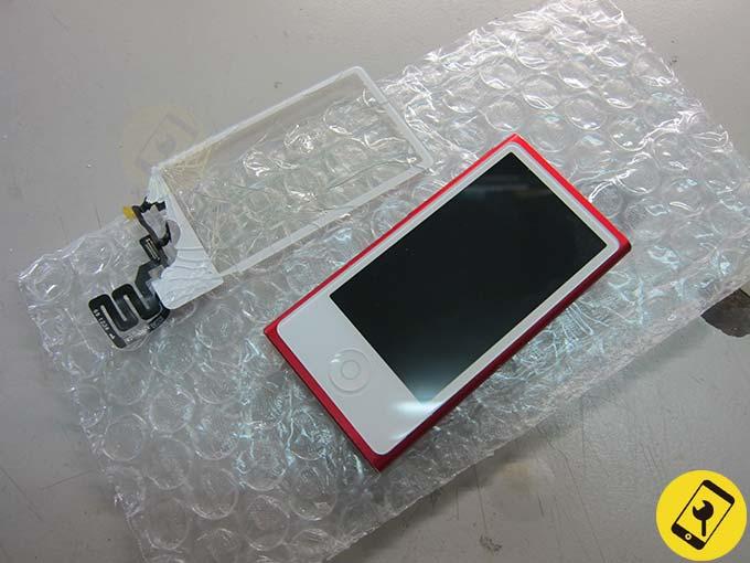 iPod nano 7 玻璃破裂