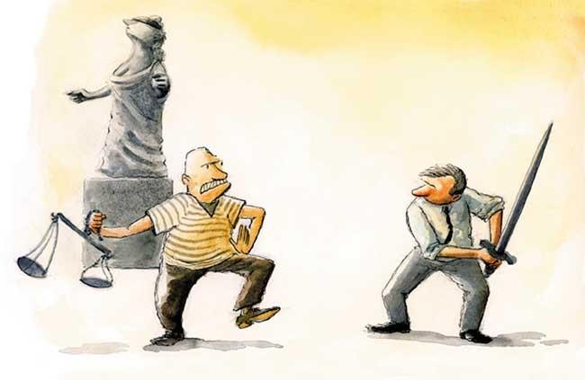 Resultado de imagen para poder e injusticia