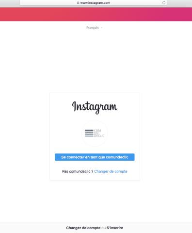 instagram sur safari-reseaux sociaux-comundeclic-mouscron