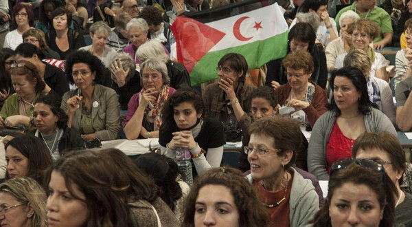 Women assembly @ World Social Forum in Tunis 26.03.2013