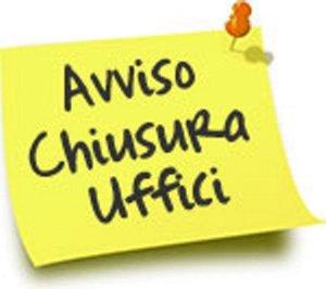 Chiusura Ufficio Tributi