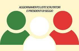 AGGIORNAMENTO ALBO PRESIDENTI E SCRUTATORI DI SEGGIO ELETTORALE
