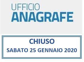 AVVISO-UFFICIO ANAGRAFE CHIUSO