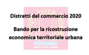 Bando Distretti del Commercio: contributi fino a 2000€, domande entro il 18 Ottobre