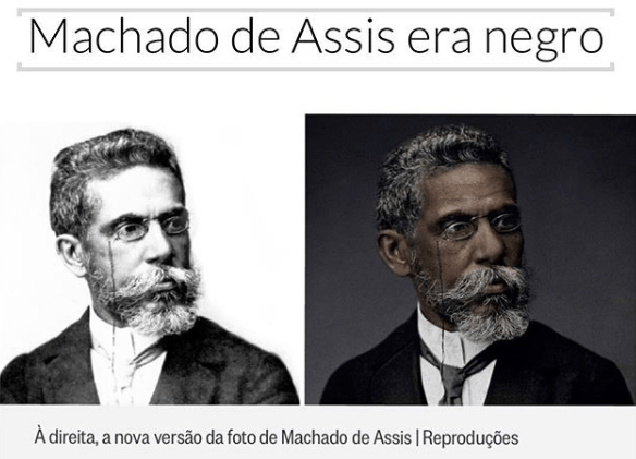 Machado de Assis era negro!