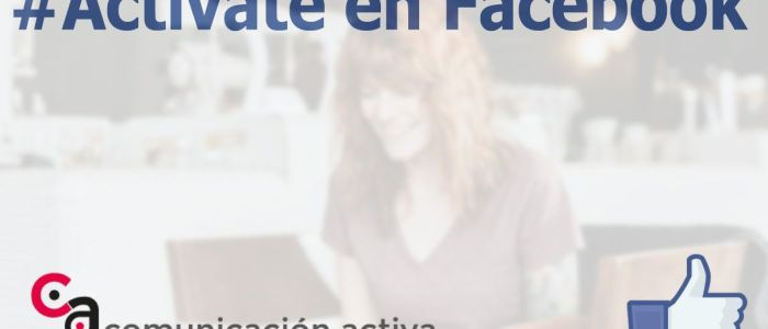 Taller Actívate en Facebook