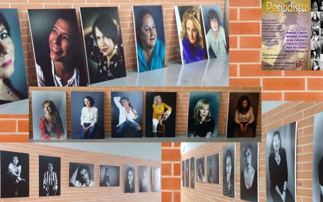 Exposición fotográfica en Sevilla de mujeres periodistas entre estudiantes de periodismo