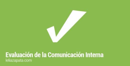 evaluación de la comunicación interna