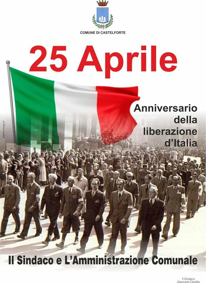 Anniversario della Liberazione  Castelforte