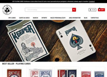 E-commerce b2b e b2c per KeyPlayingCards