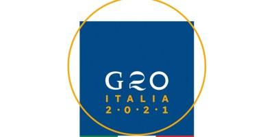 Logo G20 Italia 2021