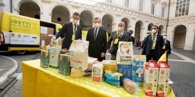 Draghi solidarietà alimentare