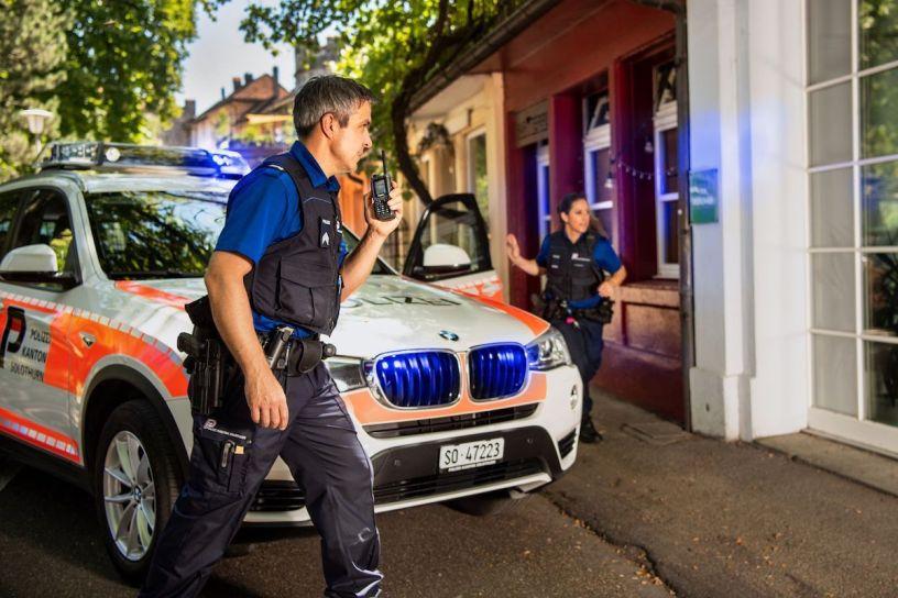 Svizzera operazione di Polizia