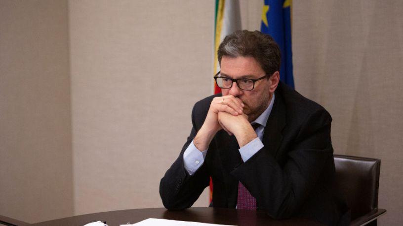 ministro Giorgetti 26 marzo 2021