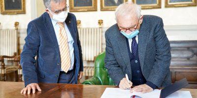 presidente OdG Verna e ministro Istruzione Bianchi