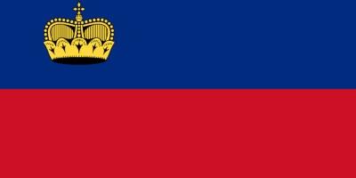 Liechtenstein bandiera