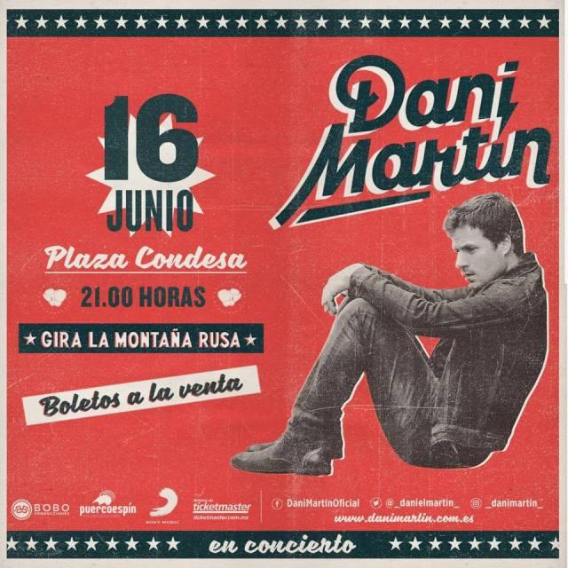 Dani Martín vuelve a México con La Montaña Rusa