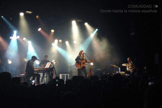 Emocionante y vibrante el concierto de Andrés Suárez en Barcelona