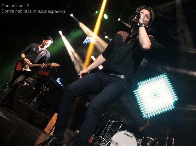 España coquetea con México en el concierto de Manuel Carrasco en El plaza