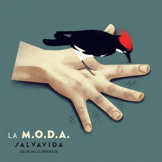LA M.O.D.A. publica hoy su nuevo disco «Salvavida (de las balas perdidas)»