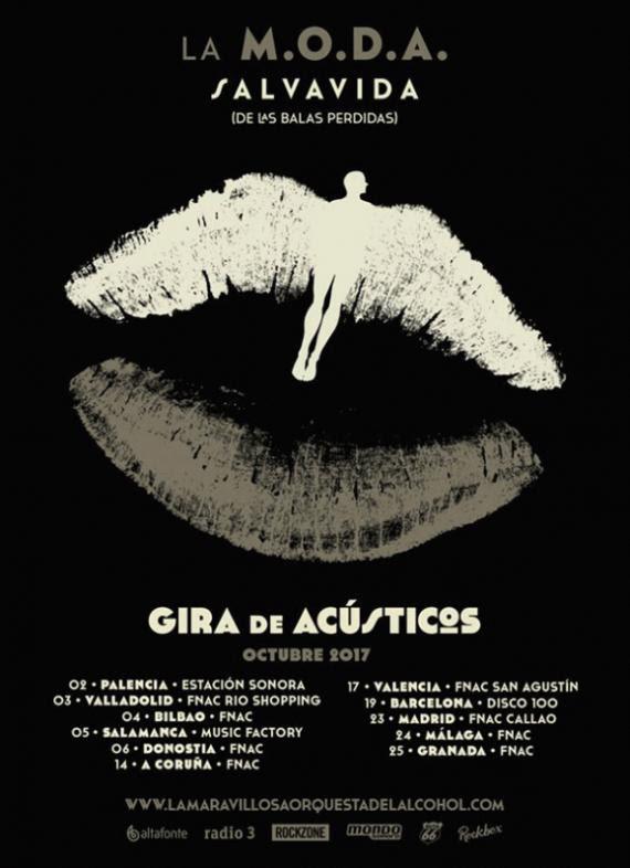 LA M.O.D.A. acústicos y firmas en octubre por España