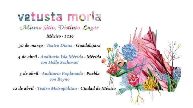 VETUSTA MORLA celebra con conciertos 10 años de alianza con México