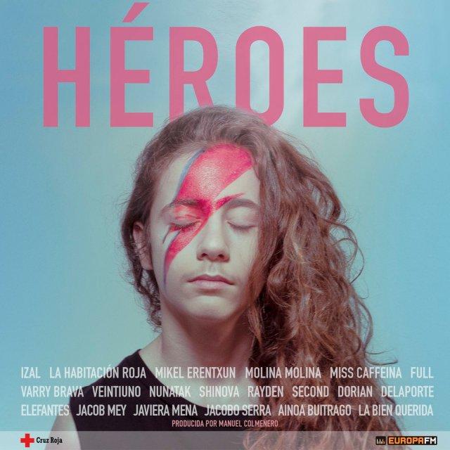 Veinte artistas reinterpretan «Heroes» de David Bowie por la Cruz Roja