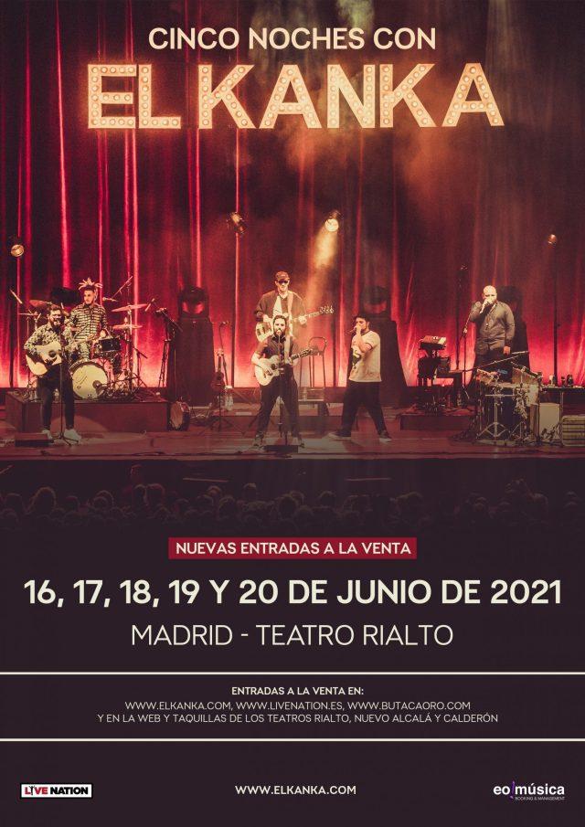 El Kanka cuelga el cartel de Sold Out en Madrid