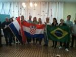 JMJRio 2013 - Croatas e Brasileiros