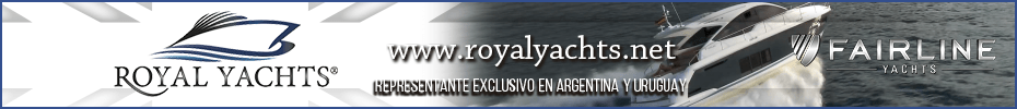 ROYAL YACHTS representante Fairline Argentina