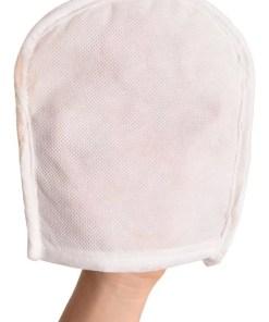 guante esponja luffa manopla