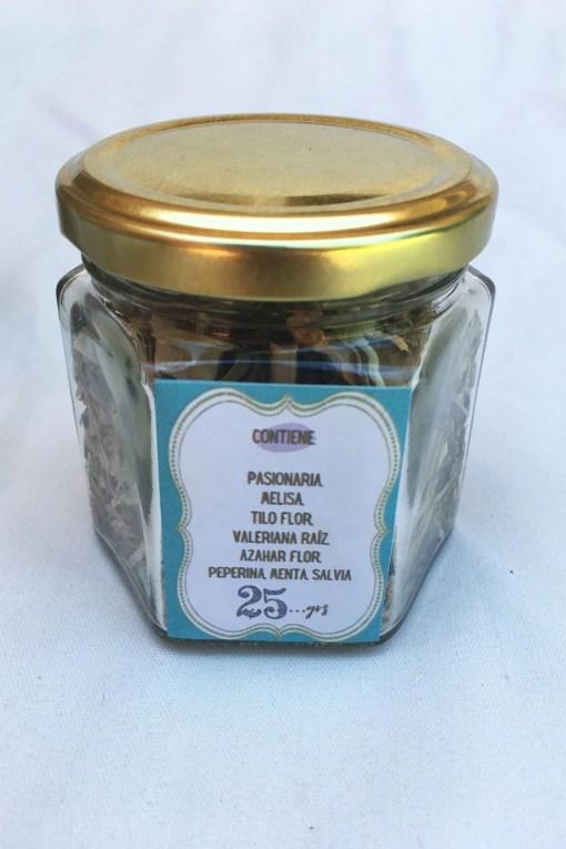 hierbas agroecológicas para mate o té antiestres