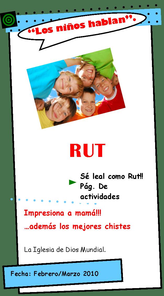 Ruth – Los niños hablan No. 09