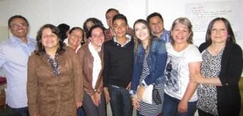 grupo con bautizados