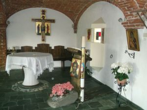 Casa Mater Misericordiae - la cappella