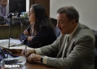 Abogado Linares Beltranena, junto a Fiscal del MP