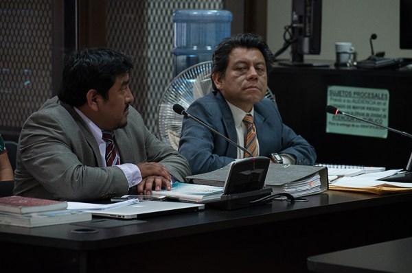 Juan Castro y Eduardo De León, abogados defensores