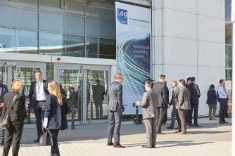 23. Handelslogistik-kongress: Vor den Toren des des Congress-Centrum Köln-Messe