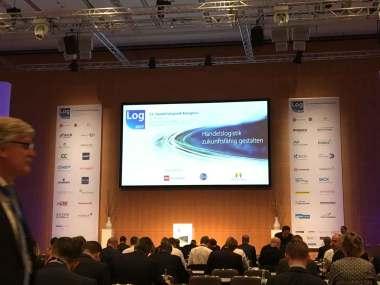 Vortragsraum des Handelslogsitik-kongresses 2017