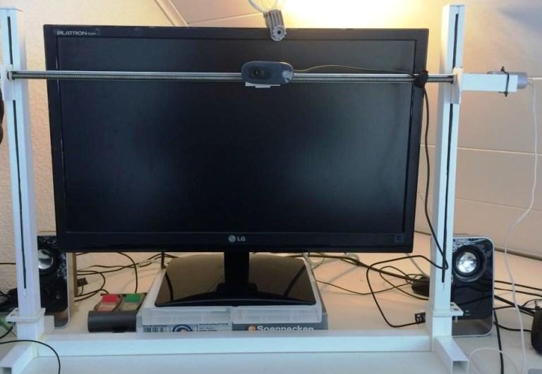 Webcamsystem für Desktop Bildschirm