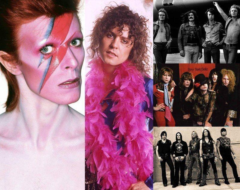 Resultado de imagen de Glam rock IMAGENES