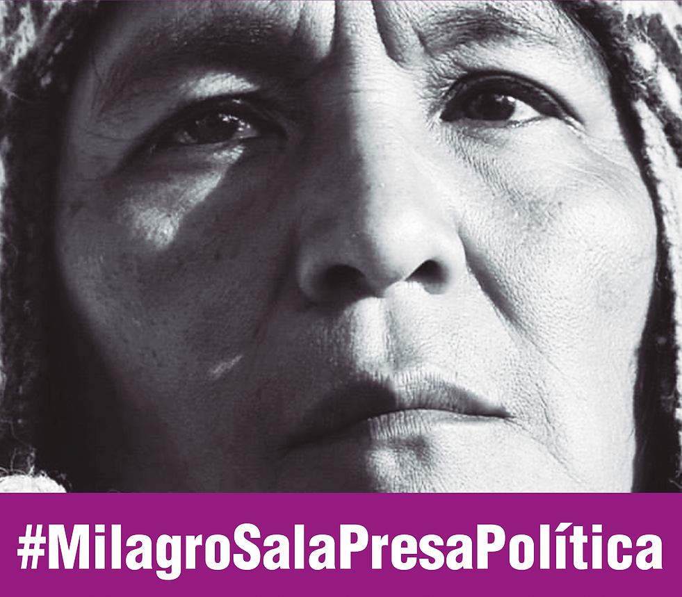 Image result for MILAGRO SALA