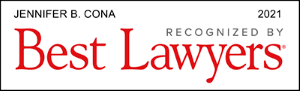 Jennifer B. Cona recognized by Best Lawyer 2021