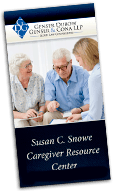 Download the Brochure for Susan C. Snowe Caregiver Resource Center