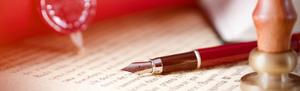A Will with a pen on it