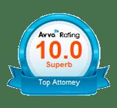 Avvo top attorney rating