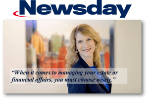 Jennifer Cona quoted in Newsday about executors