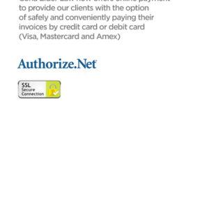Client online payment disclaimer