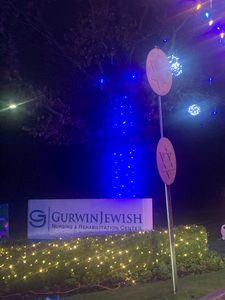 Gurwin Jewish Nursing & Rehabilitation Center sign